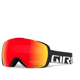 Giro Contact Gafas, black/vivid ember/vivid infrared